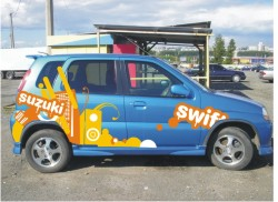 Наклейка на Suzuki Swift